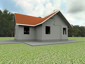 Монтаж стропильной системы многощипцовой крыши