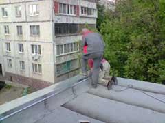 Монтаж парапетов