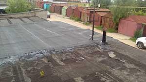 Ремонт крыши гаража в Москве.