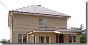 Монтаж вальмовой крыши.