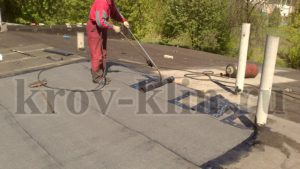 Фото ремонт крыши гаража