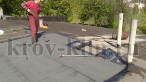 Ремонт мягкой кровли на крыши гаража