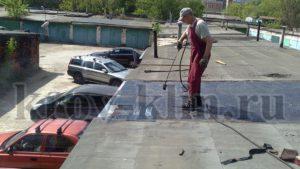 Уервого слоя гидроизоляция на гараже