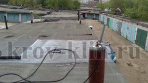 Ремонт крыши гаража Солнечногорск
